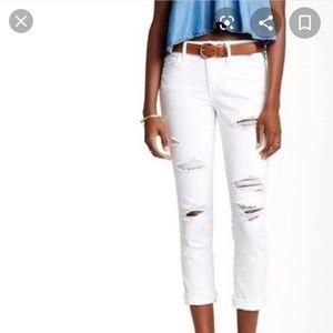 Joe's Jeans- Distressed Janel White